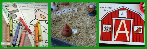 Farm Language Arts Activities