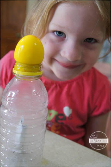 egg in a bottle science experiment