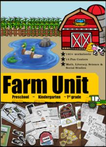 HUGE Farm Unit for Kids