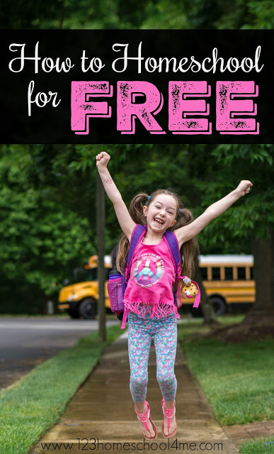 Did you know you can homeschool for FREE? Yep! You can do it and here are all the many ways how (lots of free unit plans, free worksheets, lesson plans, and more for homeschooling families) #homeschool #homeschooling