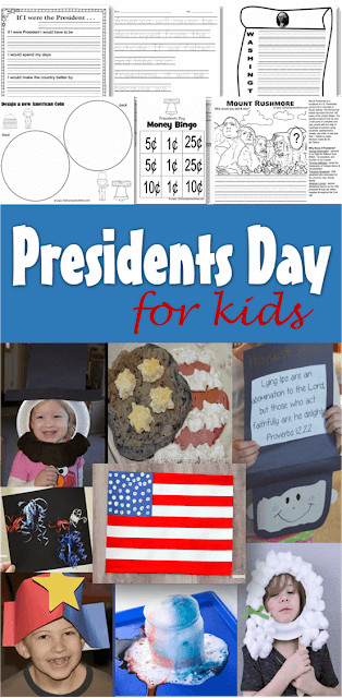 15 FUN, clever, and FREE ways to learn and play this Presidents Day
