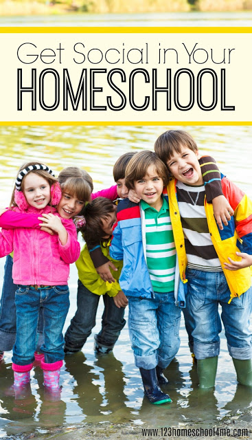 Worried about homeschool socialization? Homeschooling your kids doesn't mean they won't get to interact with other kids or that they will be socially awkward. Let me show you how to get social in your homeschool by makinghomeschool friends, participating inhomeschool coops, andsocial groups for homeschoolers.