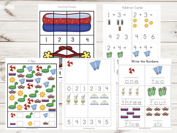 summer-Printables-Math-worksheets