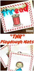 trigraph activity playdough mats