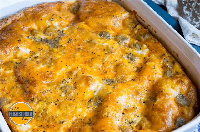 Super Easy Egg Casserole