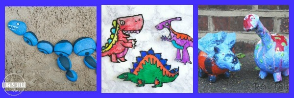 Dinosaur Arts & Craft Projects