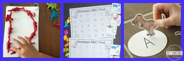 Dinosaur Language Arts Activities