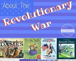 American Revolution Books for Kids
