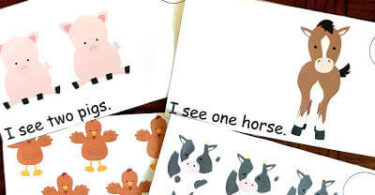 Counting-Farm-Animals-Emergent-Reader