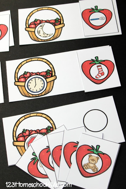 strawberry-rhyming-activity-preschool