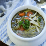 Easy Homemade Chicken Noodle Soup in the Instapot