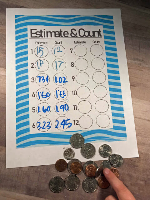 Estimating With Coins