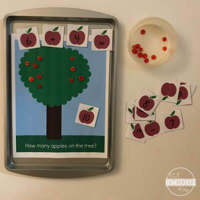 Apple Math for Kids