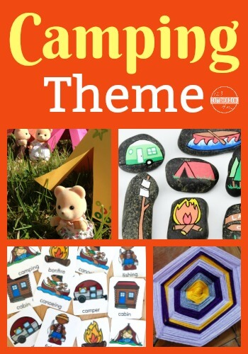 camping-theme-printable-activities-preschool-kindergarten-first-grade
