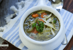 Easy Instapot Chicken Noodle Soup