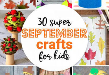 Super September Crafts for Kids