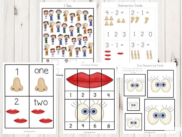 five-senses-worksheets-for-toddler-preschool-kindergarten-first-grade-free