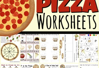 pizza worksheets
