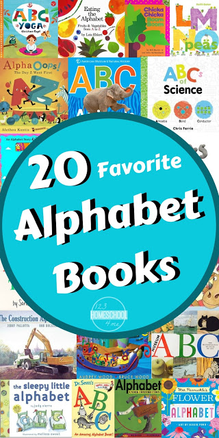 20 Favorite Alphabet Books - looking for the BEST alphabet books to read to your early learners! You will love this alphabet book list perfect for families of toddler, preschool, kindergarten, and first grade kids. #alpabet #preschool #bookstoread