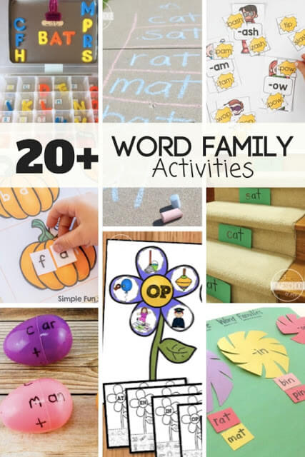FUN-word-family-activities