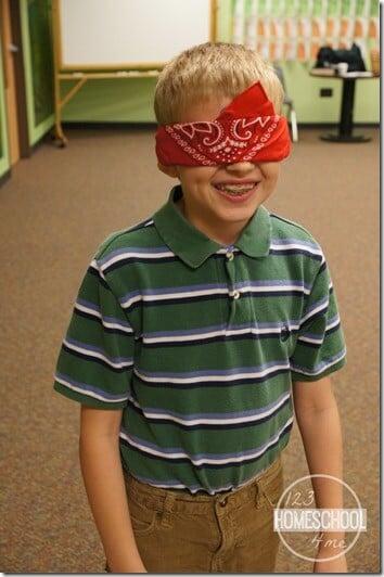 Jesus Heals Blindness Bible Game for Sunday School