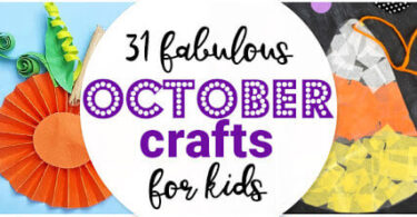 Fabulous October Crafts for Kids