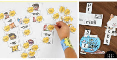 FUN Word Family Activities