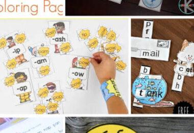 FUN Word Family Activities