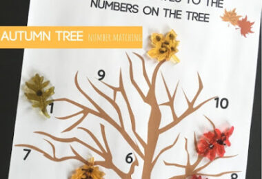 Autumn Tree Number Matching