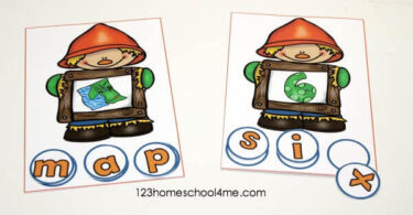 Scarecrow CVC Words Mats
