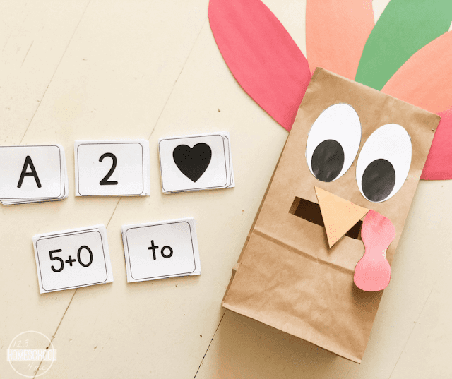 make a paper bag turkey out of brown bag and construction paper perfect for fall activities and turkey craft and educational activity
