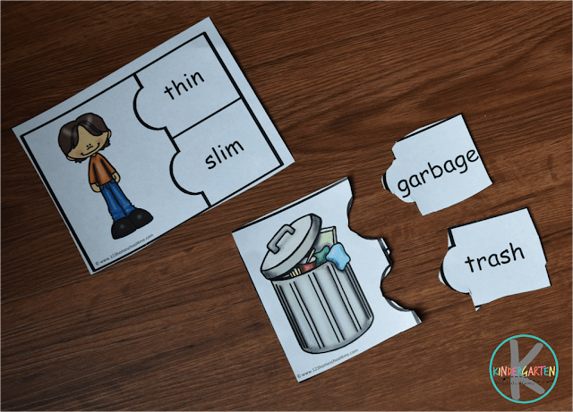 synonym puzzles for first grade, 2nd grade, 3rd grade, 4th grade kids