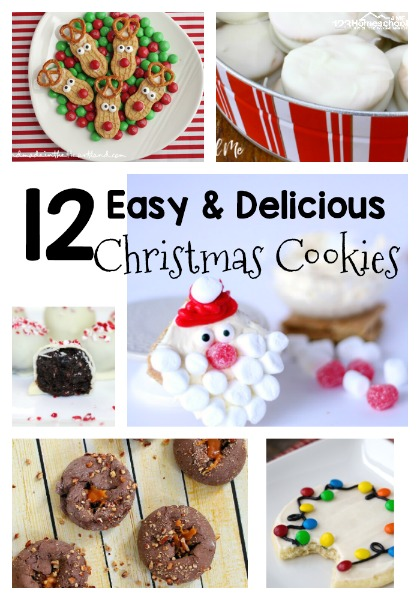 Cookie Day Recipes for Christmas
