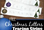 FREE Christmas Letter Tracing