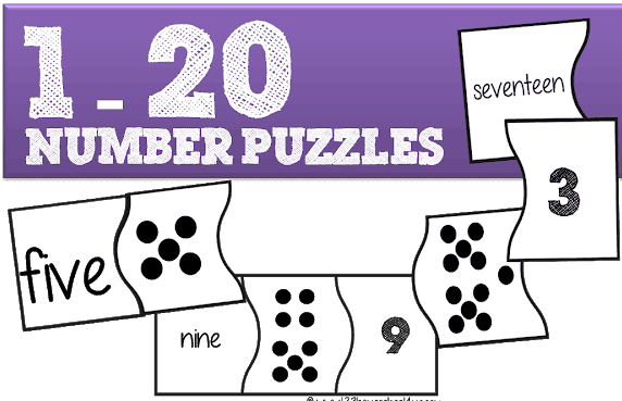 Free Printable Number Puzzles