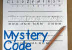Mystery Code Sentences Plus Template