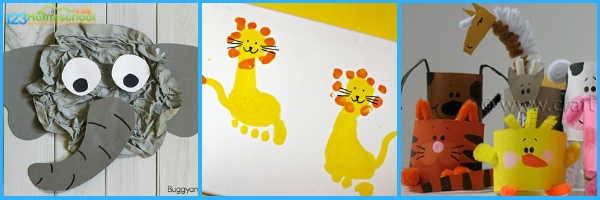 Zoo Crafts for Kids
