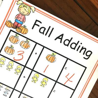 adding pumpkins answer