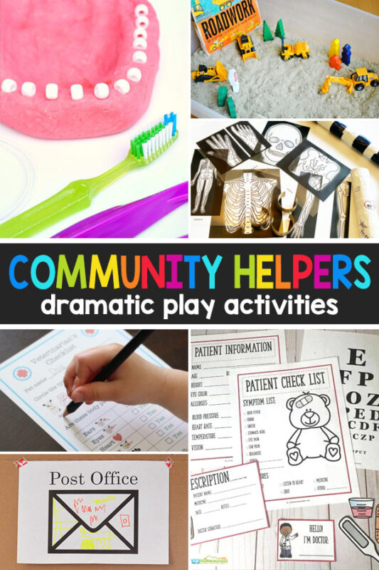 Community Helpers Dramatic Play Ideas
