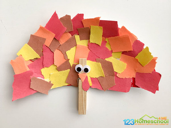 easy-turkey-crart-for-kids