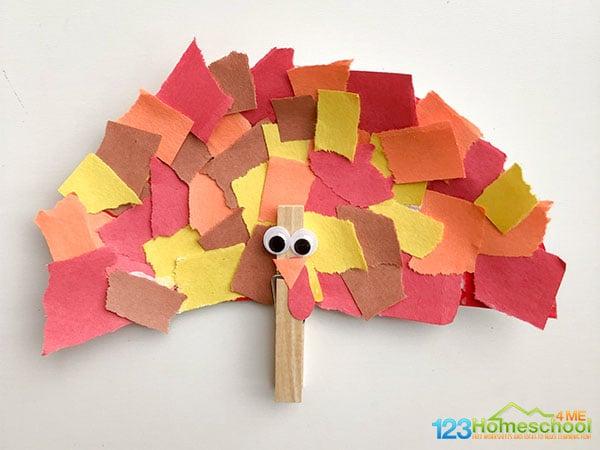 easy-turkey-crart-for-kids
