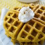 Easy to Make Pumpkin Waffles Recipe