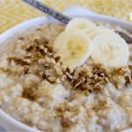 Quick Banana Bread Oatmeal Recipe