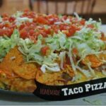 Easy Homemade Taco Pizza Recipe