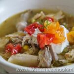 Green Chicken Taco Soup Recipe