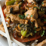 Light & EASY Cashew Chicken Recipe