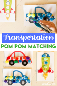 free-Transportation-printable-Pom-Pom-Matching-Fine-Motor-Skills-Educational-Activity
