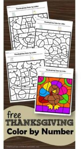 free-thanksgiving-color-by-number
