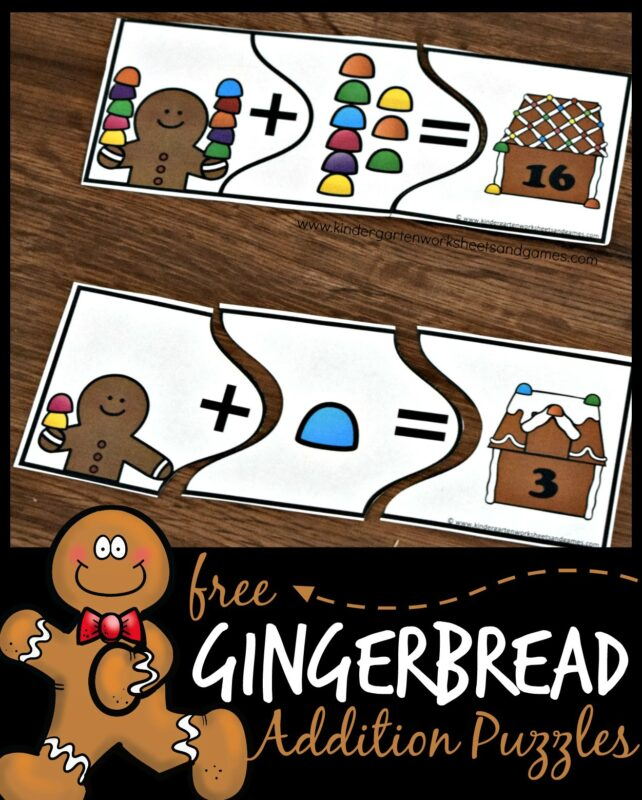 gingerbread-addition-puzzles