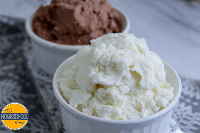 EASY snow ice cream recipe